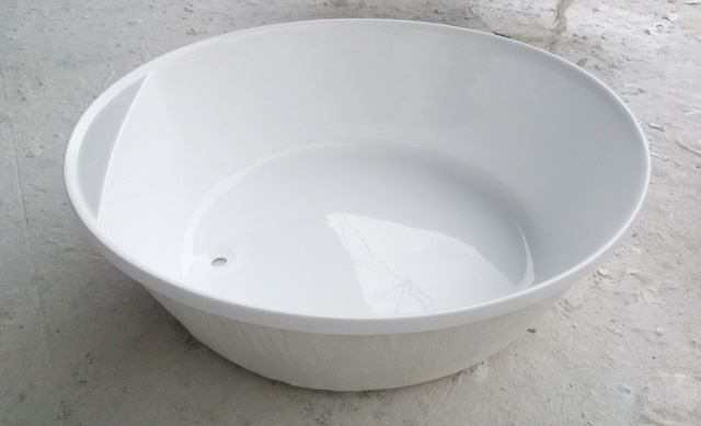Round Bathtub Round Soaking Tub