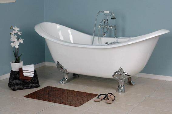 Antique Bathtub Victorian Old Fashioned