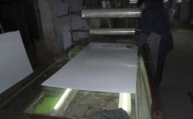 Soft Tub For Sale >> Cast Acrylic Sheet - Manufacturing - Process
