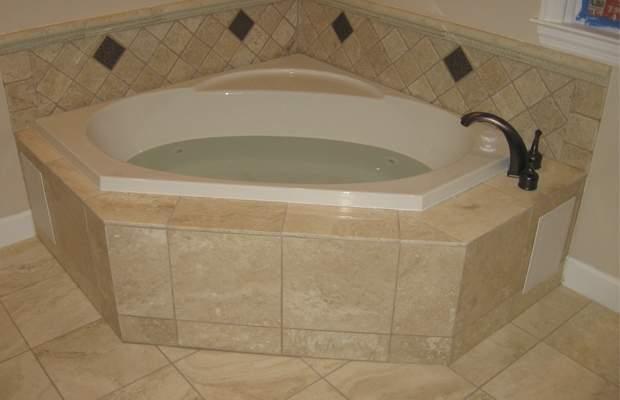 corner baths for small bathrooms corner tub ideas