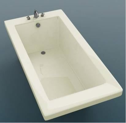 Rectangular bathtubs Drop in tub dimensions