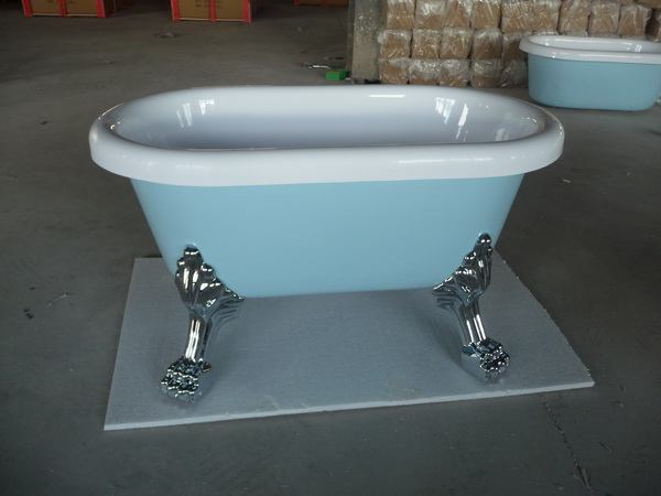 Small clawfoot tub baby clawfoot tub Smallest bath tub