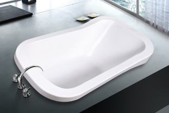 Oval Soaker Soft Tub 71 Inch 1790 Mm